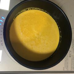 冬/スープ/パンプキンスープ 久々に発見したジューサーで、夕食のお供に…