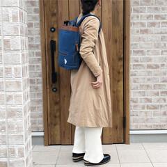 春コーデ/ママコーデ/LIMIAおでかけ部/ファッション GUさんのリブワイドパンツ♡ やっぱりベ…