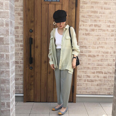 ママコーデ/ミントグリーン/ファッション ミントグリーン♡ ミントグリーンが好きす…