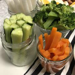 簡単レシピ/晩ごはん/ベジタリアン/バーニャカウダ/おうちごはん バーニャカウダー♡  簡単だけど美味しい…