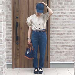 GU/キャップコーデ/ファッション/みんなにおすすめ 日差しが強くなってきたら、キャップが欠か…(1枚目)