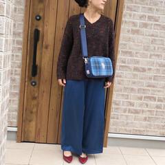 サテンパンツ/ママコーデ/ハロウィン2019/ファッション JEANASISさんのサテンパンツは、深…(1枚目)
