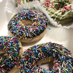 スウィーツ/ドーナツ/おやつタイム 今日のデザート♡ 見た目めかわいいドーナ…