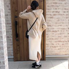ベージュコーデ/ママコーデ/ありがとう平成/ファッション/平成最後の一枚 平成ラストのファッションフォト♡ 最近気…(1枚目)