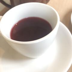 ハーブティ/紅茶/おやつタイム 最近のお茶タイムのお供💖 ローズヒップテ…