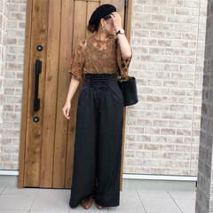 ママコーデ/コルセット/ハイウエスト/夏コーデ/ファッション 夏のファッションアイテム2018  この…
