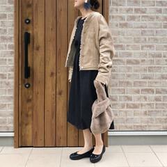 ママコーデ/オーバーサイズ/ファッション kettycherie   さんのワンピ…