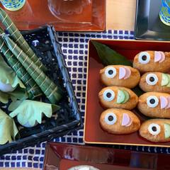 こいのぼり弁当/お昼ごはん/こいのぼり/鯉のぼり/ステイホーム/おうち時間/... (4枚目)