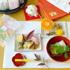 お節/お雑煮/あけおめ/フォロー大歓迎/冬/おうち/... ミニお節。 わたしの住む町 金沢のお雑煮…