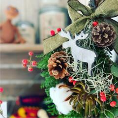 クリスマスインテリア/クリスマス/Xmasディスプレイ/Xmas/クリスマススワッグ/Xmas swag/... Xmas swag🎄