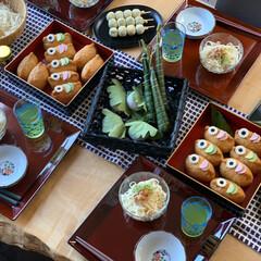 こいのぼり弁当/お昼ごはん/こいのぼり/鯉のぼり/ステイホーム/おうち時間/... (1枚目)