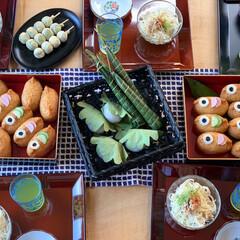 こいのぼり弁当/お昼ごはん/こいのぼり/鯉のぼり/ステイホーム/おうち時間/... (2枚目)