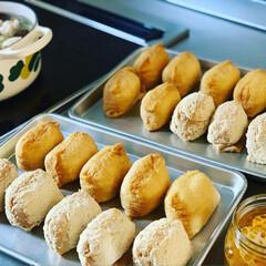 休日ごはん/お昼ごはん/いなり寿司/グルメ/フード/おうちごはんクラブ/... 中Jのリクエストにより お昼ごはんは い…