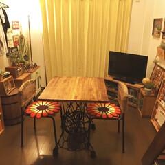 カフェ/カフェ風インテリア/住まい 時間をかけて少しずつカフェ風な部屋にして…