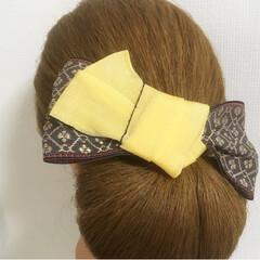 髪飾り/京都/花火大会/お祭り/着物/浴衣/... 夏祭りや花火大会に浴衣を着て、髪飾りでワ…(9枚目)