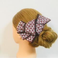 髪飾り/京都/花火大会/お祭り/着物/浴衣/... 夏祭りや花火大会に浴衣を着て、髪飾りでワ…(1枚目)