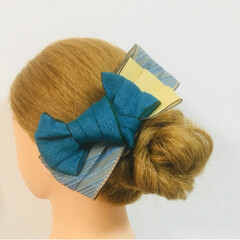 髪飾り/京都/花火大会/お祭り/着物/浴衣/... 夏祭りや花火大会に浴衣を着て、髪飾りでワ…(4枚目)