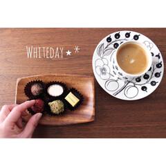 コーヒー/ホワイトデー/チョコレート/北欧雑貨/Whiteday/フォロー大歓迎/... いただきます 𖠚ᐝ