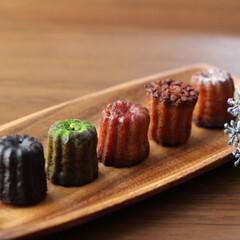 お菓子/お買い物/おやつ/カヌレ/食欲の秋/秋/... 並んでるだけでかわいいカヌレ♡ 食欲の秋…
