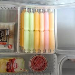 冷凍庫/アイスクリーム/アイス/チューペット/Seria/100均/... チューペット? チューチュー? ポッキン…(1枚目)