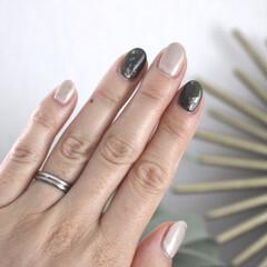 日々の暮らし/暮らし/美容/ネイル/シンプルな暮らし/シンプルライフ 久々にネイルをしました。 指先が綺麗だと…