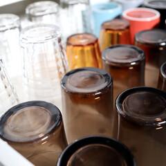 雑貨/インテリア/整理収納/DURALEX/グラス/食器/... 我が家のグラスはほぼDURALEX。 強…