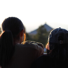 姉妹/子育て/奈良/シンプルライフ/シンプルな暮らし/お出かけ/... 奈良散策 【二月堂】