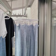 アイデア/タオル干し/洗濯のコツ/洗濯/簡単/雑貨/... 東向きで午前中しか日が当たらない我が家は…