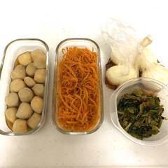 作り置きおかず/作り置き/100均/お弁当/キッチン/雑貨/... 朝のお弁当作りが楽になるように♩ ちょこ…