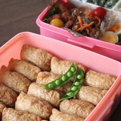 いなり寿司/運動会弁当/運動会/ご飯/お弁当/キッチン/... 安定のおいなりさん。 運動会弁当♪