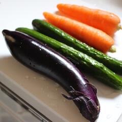 シンプルライフ/暮らし/野菜/発酵ぬか床/無印良品/発酵食品/... この野菜達を使ってぬか床に挑戦しました。