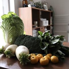 実家/素敵便/野菜/野菜作り/リミアな暮らし/住まい/... 母からの素敵便 ブロッコリーデカっ!!