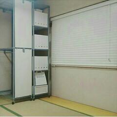 シンデレラフィット/セリア 和室。。。  seriaの収納ボックスに…
