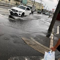 台風 皆さん ご心配かけております💦💦 だいぶ…(1枚目)
