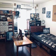 マイルーム/男前インテリア/ブルックリンスタイル/ベッド/インテリア/雑貨/... maiルーム𐤔𐤔✨✨  LIMI…