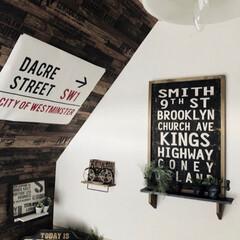 ブルックリン/男前/壁紙シート/雑貨/インテリア/キッチン やっと 壁紙シート入荷✨✨  とりあえず…