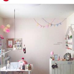 紹介してもらいました/ピンクインテリア/娘の部屋/Instagramもやってます/Instagram/フォロー大歓迎 InstagramのLIMIAで素敵なイ…