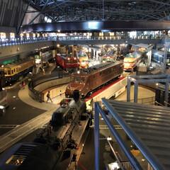 鉄道博物館/女子旅行/おでかけ/旅行/夏のお気に入り 本日…  ノリと勢いで三姉妹連れて 鉄道…(1枚目)