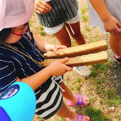 子供神輿/地区のお祭り 今日は地区のお祭り。 子供神輿があります…