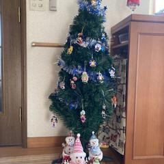 アイロンビーズ/鬼滅の刃/クリスマスツリー/ハンドメイド/クリスマス アイロンビーズが楽しすぎて🤣🤣🤣  手が…
