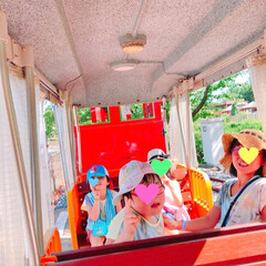 猛暑/育成会旅行/電車の旅/東武動物公園/おでかけ この猛暑の中… 育成会旅行で東武動物公園…