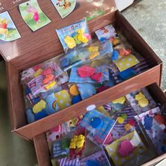 バッチ/マグネット/キーホルダー/フリーマーケット/ハンドメイド 🍏幼稚園の餅つき会で開催される、バザー&…