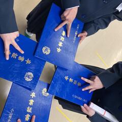 「長女 3月19日 卒業式 三女 3月20…」(1枚目)