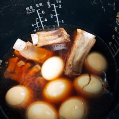 スペアリブ/炊飯器調理/グルメ/フード/おうちごはん 昨日の夕飯 スペアリブを炊飯器で作ってみ…