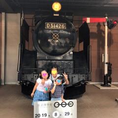 鉄道博物館/女子旅行/おでかけ/旅行/夏のお気に入り 本日…  ノリと勢いで三姉妹連れて 鉄道…(7枚目)
