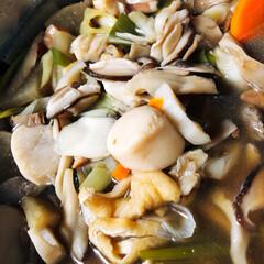 夕飯/シシャモ/麻婆豆腐/ハスのきんぴら/キノコ汁?/芋煮/... 皆さんの芋煮の投稿を見て居てもたっても居…