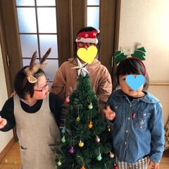 プレゼント/手紙/内緒の話/雪だるま/トナカイ/クリスマスツリー/... やっと我が家もクリスマス🎄 オーナメント…