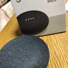 Google HomeMini/景品/ボーリング大会 旦那が職場のボーリング大会で賞を取って来…