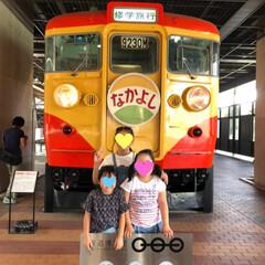 鉄道博物館/女子旅行/おでかけ/旅行/夏のお気に入り 本日…  ノリと勢いで三姉妹連れて 鉄道…(2枚目)