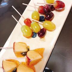お家で過ごそう/コロナに負けるな/がんばれ日本/暇つぶし/フルーツ飴 本日の暇つぶし😅  巷で話題のフルーツ飴…
